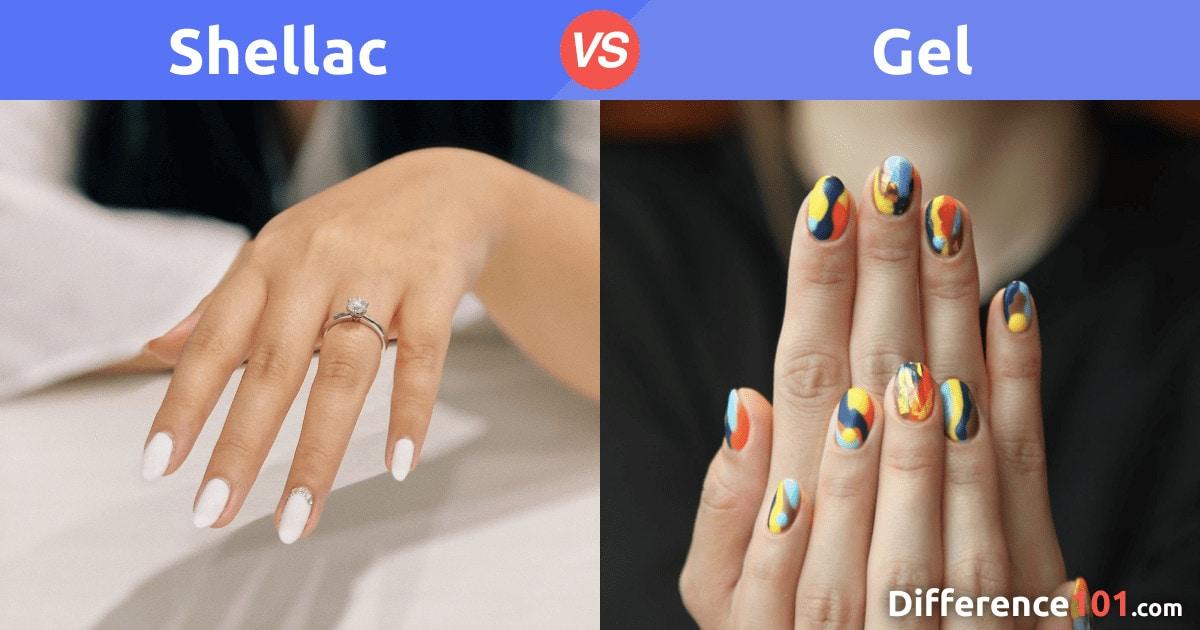 Shellac vs Gel : Différence, Sûreté, Avantages et Inconvénients